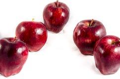 Här har du funnit stor ` s för äpple fem Royaltyfria Bilder
