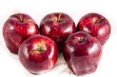 Här har vi stor röd ` s för äpple tre Fotografering för Bildbyråer
