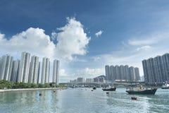 härbärgera Hong Kong Arkivbild