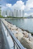 härbärgera Hong Kong Fotografering för Bildbyråer