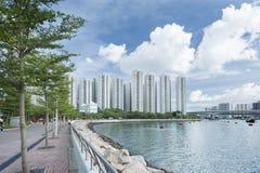 härbärgera Hong Kong Arkivfoton