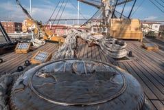 härbärgera seglingshipen arkivbild
