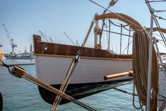 härbärgera seglingshipen arkivbilder