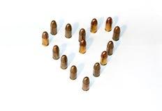 Härd från ammo Fotografering för Bildbyråer
