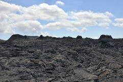 Härdad lava för mycket läskiga blickar Fotografering för Bildbyråer