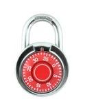 härdat padlockstål Royaltyfri Fotografi