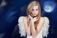 härlig ängel Arkivfoto