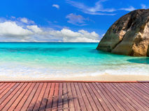 härlig ö för strand Royaltyfri Fotografi