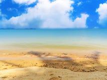 härlig ö för strand Royaltyfri Bild
