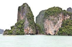 Härlig ö i det Andaman havet Arkivbilder
