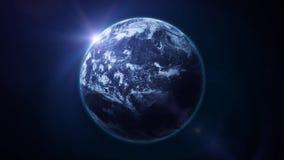 Härlig ögla för rotation för hdjordplanet