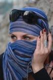 härlig östlig kvinna Royaltyfri Fotografi