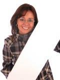 härlig affärskvinna Fotografering för Bildbyråer