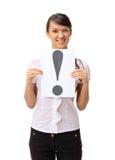 härlig affärskvinna arkivfoton