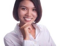 Härlig affärskvinna Royaltyfri Fotografi