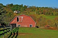 Härlig Amish ladugård Royaltyfri Bild