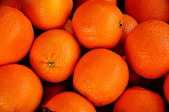Härlig apelsin Arkivfoto