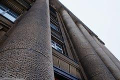 Härlig arkitektur av den gamla byggnaden Royaltyfri Bild