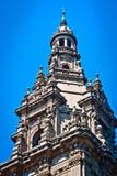 Härlig arkitektur av en byggnad i Spanien fotografering för bildbyråer
