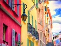Härlig arkitektur av Monaco Royaltyfri Fotografi