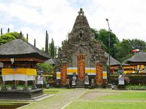 Härlig arkitektur i Bali, härliga hus i Bali Royaltyfri Foto
