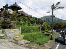 Härlig arkitektur i Bali, härliga hus i Bali Royaltyfri Fotografi