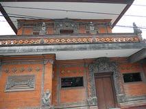 Härlig arkitektur i Bali, härliga hus i Bali Fotografering för Bildbyråer