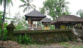 Härlig arkitektur i Bali, härliga hus i Bali Arkivbild