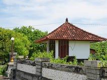 Härlig arkitektur i Bali, härliga hus i Bali Arkivbilder