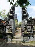 Härlig arkitektur i Bali, härliga hus i Bali Royaltyfri Bild