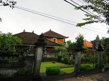 Härlig arkitektur i Bali, härliga hus i Bali Royaltyfria Foton