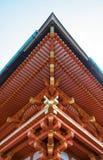 Härlig arkitektur i den Kiyomizu-Dera templet, Kyoto, Japan Arkivfoto
