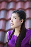 Härlig asiatisk flicka Royaltyfri Fotografi