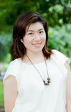 Härlig asiatisk kvinna Royaltyfria Bilder