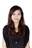 Härlig asiatisk kvinna Fotografering för Bildbyråer