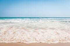 Härlig australisk strand Fotografering för Bildbyråer