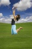 härlig avslappnande kvinna fotografering för bildbyråer