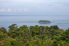 Härlig bästa sikt, Phuket, Thailand Arkivbilder