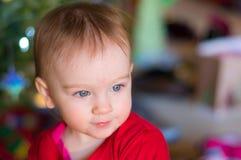 Härlig babyansikte Royaltyfria Bilder
