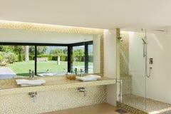 härlig badrum Royaltyfri Fotografi