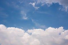 Härlig bakgrund för molnig himmel Royaltyfri Foto