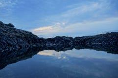 Härlig bakgrund från Los Abrigos Royaltyfri Fotografi
