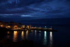 Härlig bakgrund från Los Abrigos Royaltyfri Bild