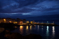 Härlig bakgrund från Los Abrigos Fotografering för Bildbyråer