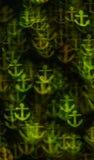 Härlig bakgrund med olika kulöra ankaren, abstrakta lodisar Fotografering för Bildbyråer