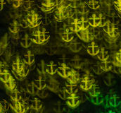 Härlig bakgrund med olika kulöra ankaren, abstrakta lodisar Royaltyfri Bild