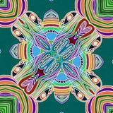 Härlig bakgrund med tropiska färger royaltyfri illustrationer