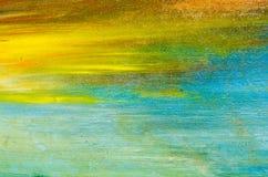 Härlig bakgrund, vattenfärgmålarfärg på kanfasen Royaltyfri Bild