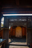 Härlig Balinese som bygger Tanjung Benoa Nusa Dua, Bali Royaltyfria Foton