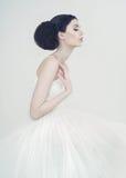 Härlig ballerina royaltyfri fotografi